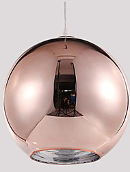 cheap -Modern/Contemporary Globe Pendant Light For Living Room Bedroom Dining Room Study Room/Office Kids Room Bulb Not Included
