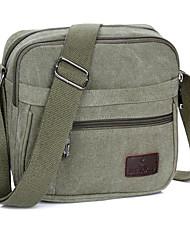 20 L Sling & Messenger Bag Shoulder Bag Leisure Sports Waterproof Breathable Shockproof Canvas