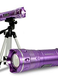 Недорогие -Светодиодные фонари Ручные фонарики Светодиодная лампа LED излучатели 200-1000 lm 3 Режим освещения Водонепроницаемый Фокусировка Диммируемая