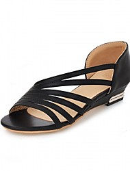 Women's Heels Spring / Summer / Fall / Winter Platform / Comfort / Novelty Synthetic / Patent Leather / LeatheretteWedding / Office &