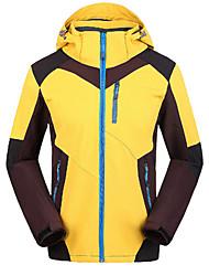Men's Women's Hiking Softshell Jacket Waterproof Windproof Anti-Insect Breathable Windbreaker Softshell Jacket Top for Camping / Hiking