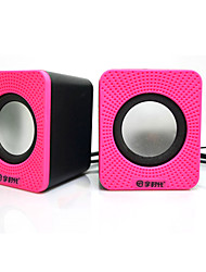 D-01A  Hot Computer Mini Speaker Stereo Portable Notebook Desktop Laptop USB Speakers