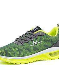 Atletické boty-Tyl PU-Pohodlné-Pánské-Černá Tmavomodrá Zelená-Outdoor Běžné Atletika