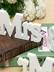 Недорогие -Свадебные прием Дерево Смешанные материалы Свадебные украшения Классика Все сезоны