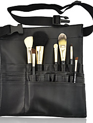 cheap -Portable Makeup Brush Bag Case Apron 22Pockets With Belt Strap Holder Cosmetic Brush Storage Organizer Box Beauty Artist Tool