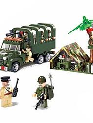 Недорогие -Конструкторы Военные блоки Конструкторы Игрушки Soldier совместимый Legoing Оригинальные Мальчики Девочки Игрушки Подарок / Обучающая игрушка