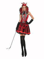 Queen Fairytale Female Halloween Christmas Carnival Children's Day New Year Oktoberfest Festival/Holiday Halloween Costumes Solid Lace