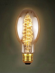 cheap -E27 40W C75 Around The Silk Restaurant Shopping Malls Edison Antique Retro Decorative Lamp