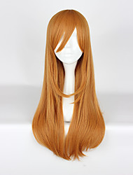 cheap -Cosplay Wigs Love Live Cosplay Yellow Long Anime Cosplay Wigs 75cm CM Heat Resistant Fiber Unisex