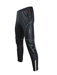 cheap -SANTIC Men's Cycling Pants Bike Bottoms Thermal / Warm, Windproof, Breathable Bike Wear