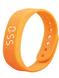 economico -DMDG T5 Bracciale smart Resistente all'acqua / Long Standby / Calorie bruciate / Contapassi / LED / Indossabile / 3D USB Microsoft Windows