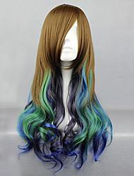 Lolita perika Classic/Tradicionalna Lolita Prijelaz boje Lolita Perika 68 CM Cosplay Wigs Kolaž Wig Za