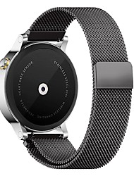 cheap -PINHEN 22MM Milanese Loop Magnet Stainless Steel Mesh Replacement Buckle Strap Wrist Band for Samsung Gear S3
