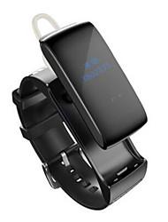 NO Pulseira Inteligente / Monitor de Atividade / Fones / Alça de PunhoChamada de Voz / Saúde / Esportivo / Sensível ao Toque / Informação