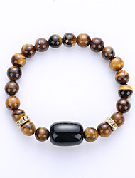 cheap -Men's Women's Strand Bracelet Yoga Bracelet Synthetic Gemstones Agate Amber Turquoise Jewelry For Party Birthday Congratulations Business