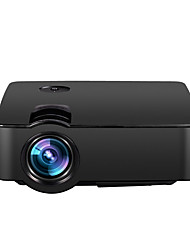 cheap -E08 LCD Home Theater Projector LED Projector 150lm Support SVGA (800x600) 30-100inch Screen / WVGA (800x480) / ±15°