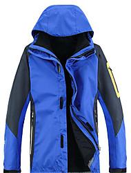 Ski Wear Windbreakers Softshell Jacket Men's Winter Wear Chinlon Winter Clothing Waterproof Thermal / Warm Windproof Static-freeSpring