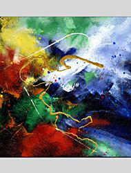 baratos -Pintura a Óleo Pintados à mão - Paisagem Clássico Modern Tela de pintura