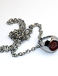 preiswerte -Mehre Accessoires Inspiriert von Naruto Akatsuki Anime Cosplay Accessoires Halsketten / Ring Silber Legierung