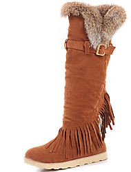 cheap -Women's Shoes Fur Fall Winter Combat Boots Motorcycle Boots Fashion Boots Riding Boots Snow Boots Cowboy / Western Boots Gladiator Boots