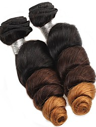Loose Wave Human Hair Weaves Brazilian Texture 200g 12-24inches Human Hair Extensions