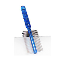 cheap -Cat Dog Grooming Health Care Cleaning Comb Casual/Daily Blue