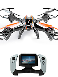 cheap -RC Drone UDI R / C U818S 4CH 6 Axis 2.4G With HD Camera RC Quadcopter FPV / LED Lights / Failsafe RC Quadcopter / Remote Controller / Transmmitter / Camera / 360°Rolling / Hover / 360°Rolling / Hover