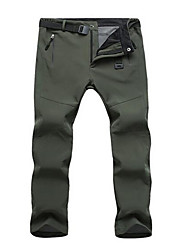 cheap -Men's Ski / Snow Pants Waterproof Thermal / Warm Windproof Static-free Ski / Snowboard Winter Sports 100% Polyester