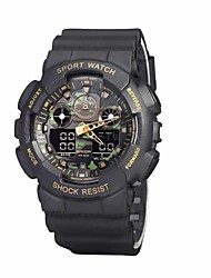 cheap -SANDA Men's Smart Watch Sport Military Style Waterproof Sport Japanese Quartz Watches Shock  Relogio Digital Watch