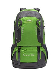 60 L Backpack Hiking & Backpacking Pack Cycling Backpack Climbing Leisure Sports Cycling/Bike Camping & HikingWaterproof Breathable