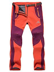 Ropa de Esquí Pantalones/Sobrepantalón Mujer Moda de Invierno Algodón Ropa de InviernoImpermeable Mantiene abrigado Resistente al Viento