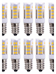10Pcs Con filo Others E14 51Led Smd2835 5w  850Lm AC220   White Warm Natural White Small Ceramic Corn Lamp Other