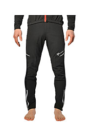 cheap -ROCKBROS Cycling Tights Men's Women's Unisex Bike Tracksuit Pants / Trousers Winter Fleece Bike Wear Quick Dry Breathable 3D Pad