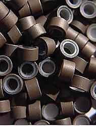 Micro Anneaux / Boucles Accessoires pour Perruques Silikon 200 Outils Perruques
