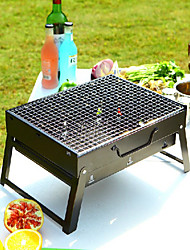 1PC Portable Charcoal Barbecue Grill Charcoal Barbecue Grill Equipment