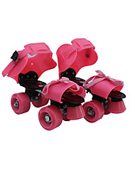 Kid's Adults' Roller Skates Anti-Slip Wearable Adjustable Yellow/Red/Blue/Blushing Pink