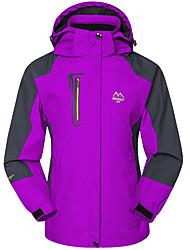 Women's Hiking Jacket Waterproof Windproof Breathable Windbreaker Softshell Jacket Top for Skiing Camping / Hiking Hunting Fishing