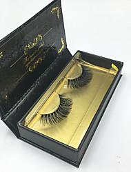 Eyelashes lash Full Strip Lashes Eyes Crisscross Thick Lifted lashes Volumized Handmade Fiber Black Band 0.07mm 14mm