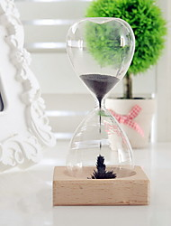 cheap -High Quality Magnet Magnetic Hourglass Time Creative Furnishing Articles