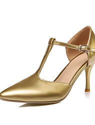 Women's Heels Spring Summer Fall Platform Customized Materials Leatherette Wedding Office & Career Casual Party & Evening Stiletto Heel
