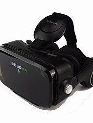 cheap -Black VR 3D Glasse Integrated Earphone Virtual Reality Headset BOBO VR for 4.7-6.2 Inch Smartphone