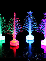cheap -Fiber Optic Tree LED Colorful Color Small Tree Random Color