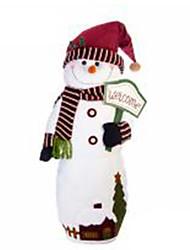 Недорогие -Снеговик Рождественский декор Мультяшная тематика Мода Высокое качество Милый текстильный Девочки Мальчики Подарок