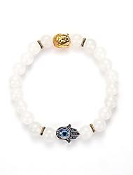 Men's Women's Strand Bracelet Yoga Bracelet Synthetic Gemstones Alloy Jewelry For Wedding Party Birthday Congratulations Business Gift