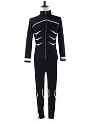 Ispirato da Tokyo Ghoul Ken Kaneki Anime Costumi Cosplay Felpe Cosplay Tinta unita Con stampe Manica lunga Maschera Per Uomo