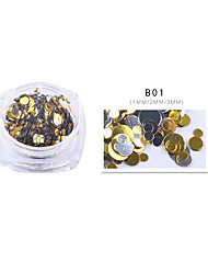 cheap -Holographic Glitter Mix Dots  1 TSP  Gel Nail Art & Acrylic  Nail Design