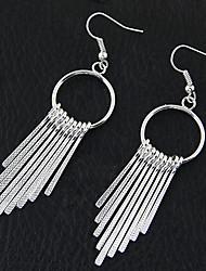 Women's Drop Earrings Hoop Earrings Tassel Fashion European Costume Jewelry Alloy Circle Jewelry For Party Daily