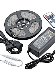 cheap -Z®ZDM Waterproof 5M 72W 300SMD 5730 LED Strip Light 11Key Remote Controller Kit 6A Power Supply AC110-240V