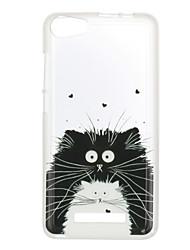 Для wiko lenny 3 закат 2 корпус крышка кошка рисунок задняя крышка soft tpu lenny 3 закат 2