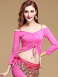 Shall We Belly Dance Tops Women's  Training Modal Long Sleeve Top